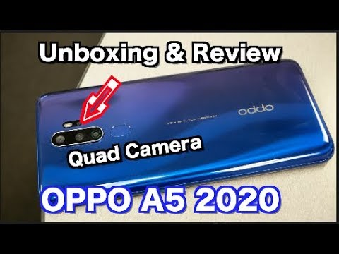 Oppo A5 2020 Unbxing and Review Great For Gaming