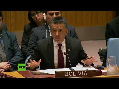 Bolivia: No se puede combatir la supuesta violación del derecho internacional violándolo