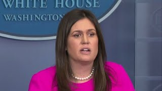 Sarah Sanders responds to Red Hen restaurant controversy