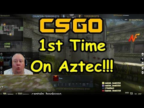 CSGO 1st Time on Aztec