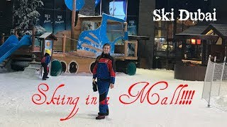 Skiing in a Mall!!!  **Dubai Vlogs**