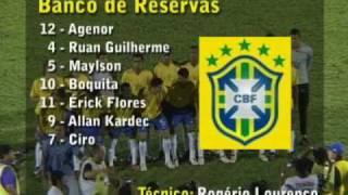 Os gols de Misto 0 x 3 Seleção Brasileira