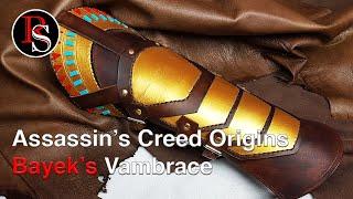 Making Assassin's Creed Origins Bayek's Leather Vambrace / Gauntlet