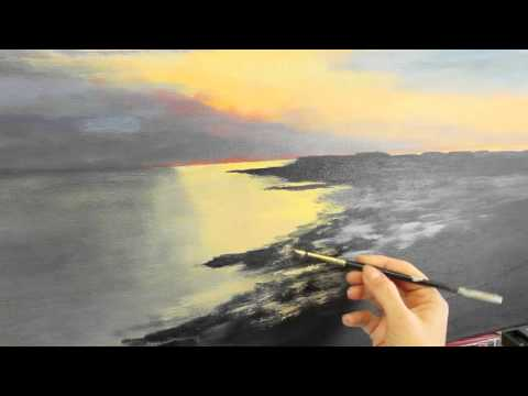 Sunset Painting Tutorial: Part 2