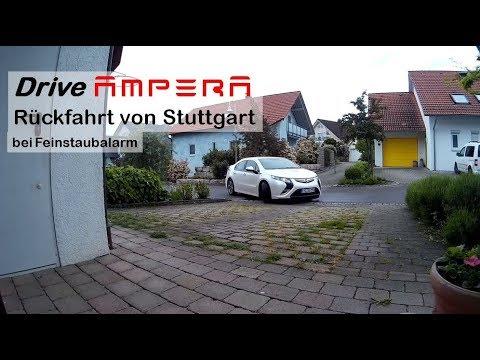 OPEL Ampera Rückfahrt von Stuttgart (EZ: 2013/02)