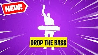 *NEW* Drop The Bass Emote Fortnite Skins..! (Fortnite Battle Royale)