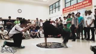 Bigtoe Crew vs Cau Giay Team // top 16 Dance And Burn // hiphead