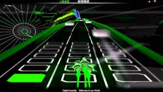 Digital Insanity - Welcome to our world ( Audiosurf )