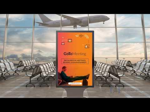 Digital billboard advertising in Europe