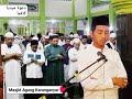 Imam Muda IsyKarima _ Ust. Mahmum _ Masjid Agung Karanganyar