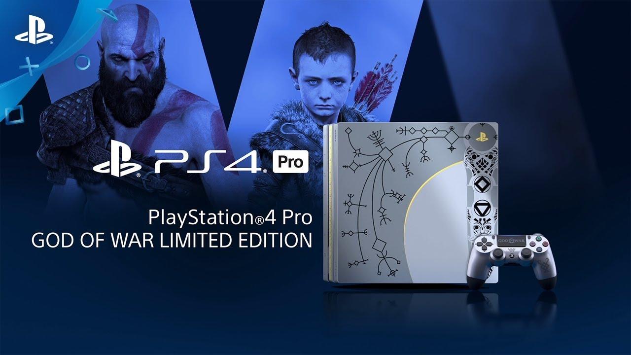 『 ゴッド・オブ・ウォー』 「PlayStation®4 Pro ゴッド・オブ・ウォー リミテッドエディション」紹介映像