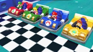Mario Party Island Tour - All Racing Minigames