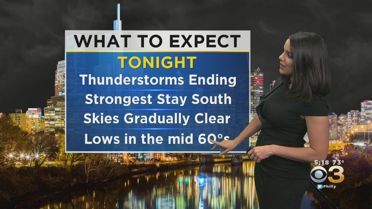 Philadelphia Weather: Severe Thunderstorm Watch Issued ...