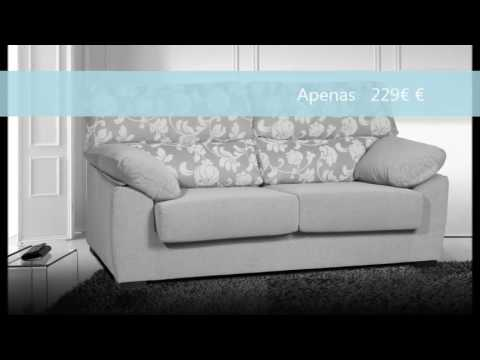 Arteconde sofas 2016 2017 mais economicos youtube for Sofas modernos baratos