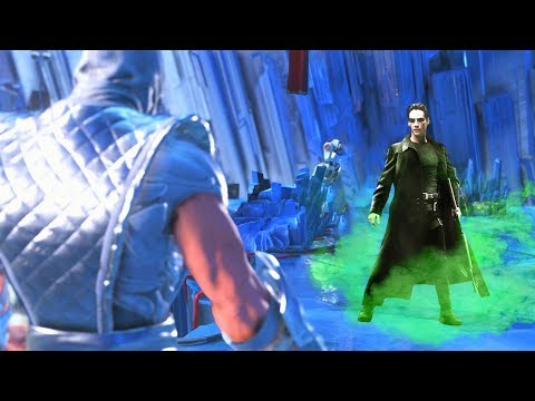 Thumbnail: INJUSTICE 2 - All THE MATRIX (Keanu Reeves) References/Easter Eggs!