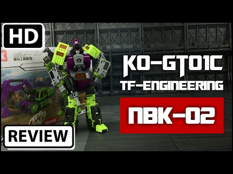 NBK-02 TF Engineering KO Generation Toys Navvy GT-01C Transformers Scavenger