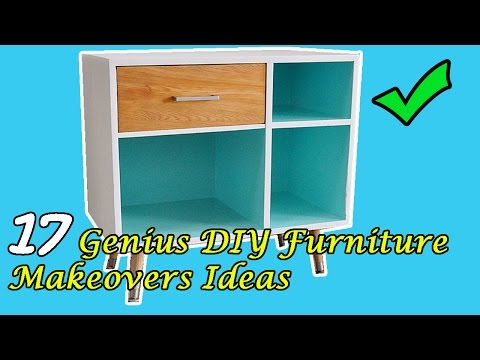 17 DIY Furniture Makeovers Ideas