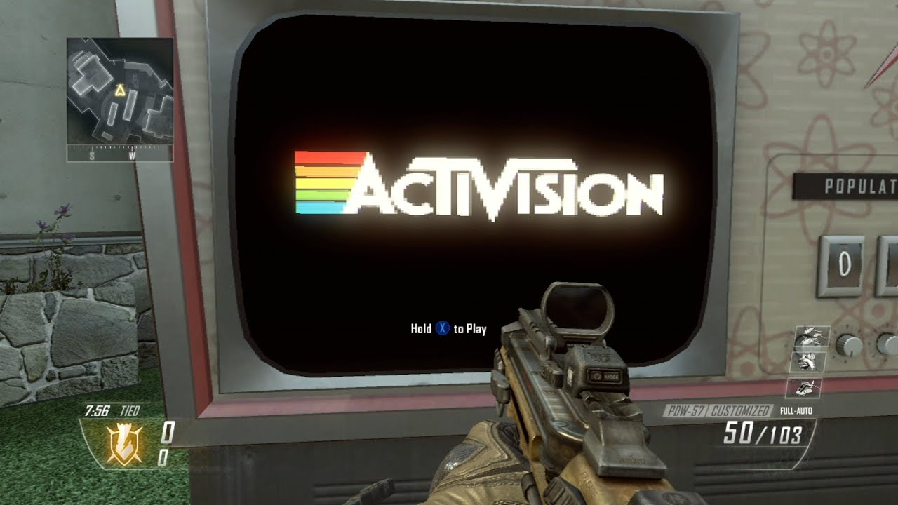 call of duty black ops 2 atari easter egg rooster teeth youtube - Pictures Of Easter Eggs 2