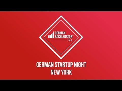 German Startup Night by German Accelerator Tech in New York
