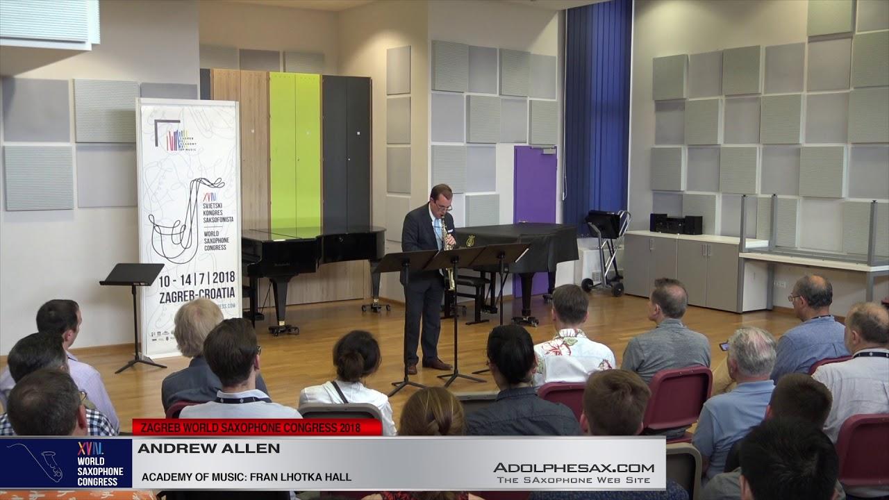 Into thin Air by Robert Lemay   Andrew Allen   XVIII World Sax Congress 2018 #adolphesax