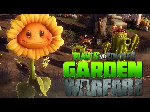 Coop. Offline en Plantas vs Zombies: Garden Warfare (Xbox One) Travel Video