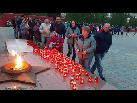Акция «Свеча памяти» в Ноябрьске