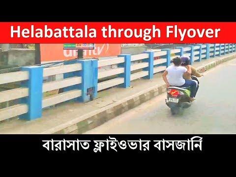 Barasat Champadali Titumir Bus Terminal to Helabattala through Barasat Flyover Bridge