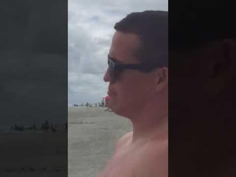 Isaac at the beach