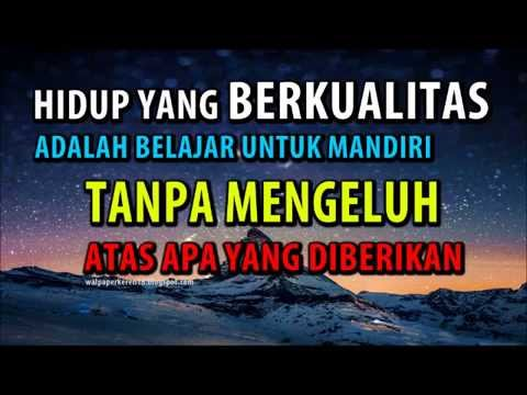 Wallpaper motivasi dan kata mutiara bijak - YouTube