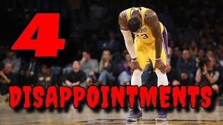 The Top 4 BIGGEST DISAPPOINTMENTS in the 2019 NBA Season