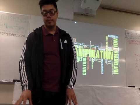 [TED TALK] Edward Lopez: Media Manipulation