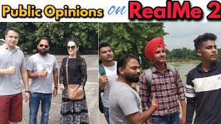 RealMe 2 Public Opinions and Reactions | Phone Below Rupees 9000 !!!