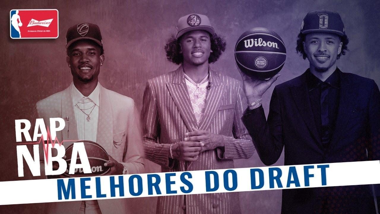 OS MELHORES DO DRAFT 2021!!! - RAP NBA