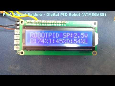 Digital PID Project ATMEGA88 - Prof. Baldera 2014