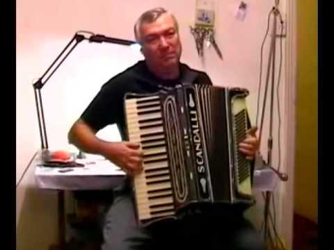 Scandalli VibranteThree - Vintage Accordion Solo - Alan Young
