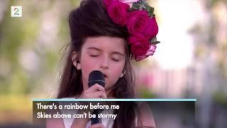 Как Эми Уайнхаус: 8-летняя Анджелина Джордан ошеломила весь мир своим проникновенным голосом