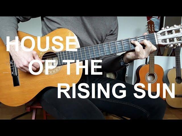 House Of The Rising Sun - lekcija na GITARI