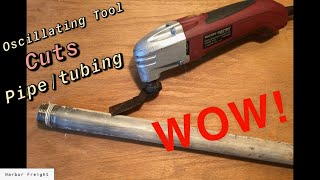 $25.00  Harbor Freight Oscillating Multifunction Power Tool Is-AWESOME- Review