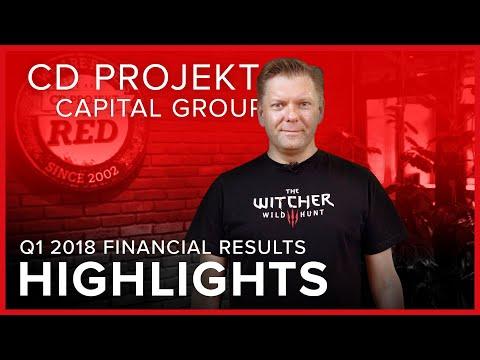 CD PROJEKT Capital Group - Q12018 financial results | HIGHLIGHTS