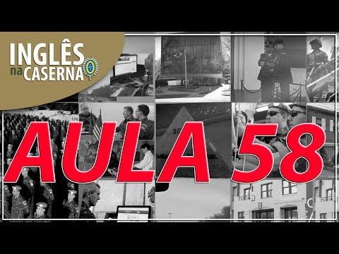 """Inglês na Caserna - aula 58 - """"Protection to civilians in armed conflicts"""""""