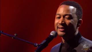 John Legend All Of Me on New Year's Rockin' Eve 2017