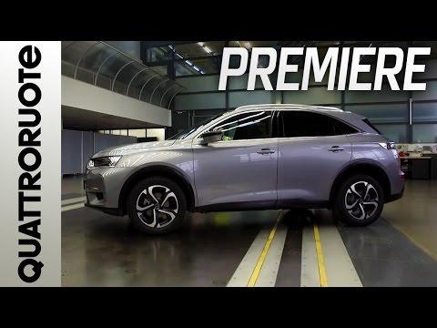 DS 7 Crossback SUV: ecco la vettura di pre-serie | Quattroruote Premiere