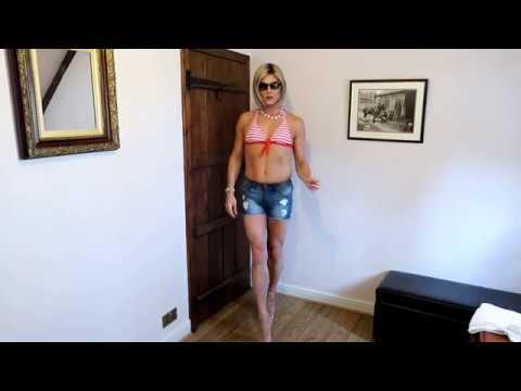 Male to Female Transformation - Bond to Bond Girl (Bikini)