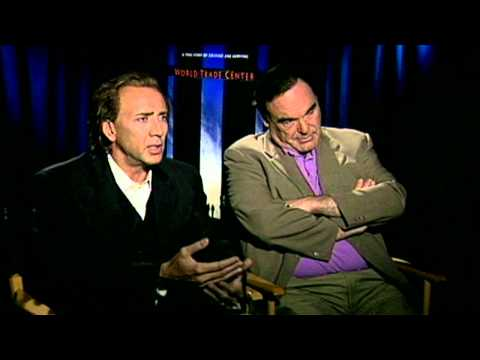World Trade Center: Nicolas Cage & Oliver Stone Exclusive Interview