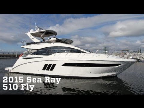 2015 Sea Ray 510 Fly Boat For Sale at MarineMax Clearwater