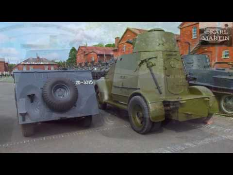 Beaverette armoured scout car