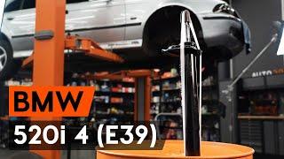 Como substituir coluna de suspensão dianteira noBMW 520i 4 (E39) [TUTORIAL AUTODOC]