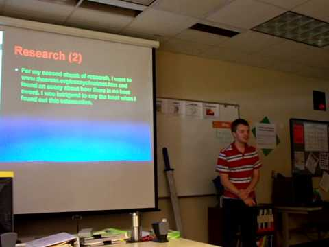 My Final Senior Project Presentation At School - Youtube