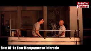 La Tour Montparnasse Infernale : Ah c'est toi qui salis ma vitre, je peux nettoyer sans me méfier