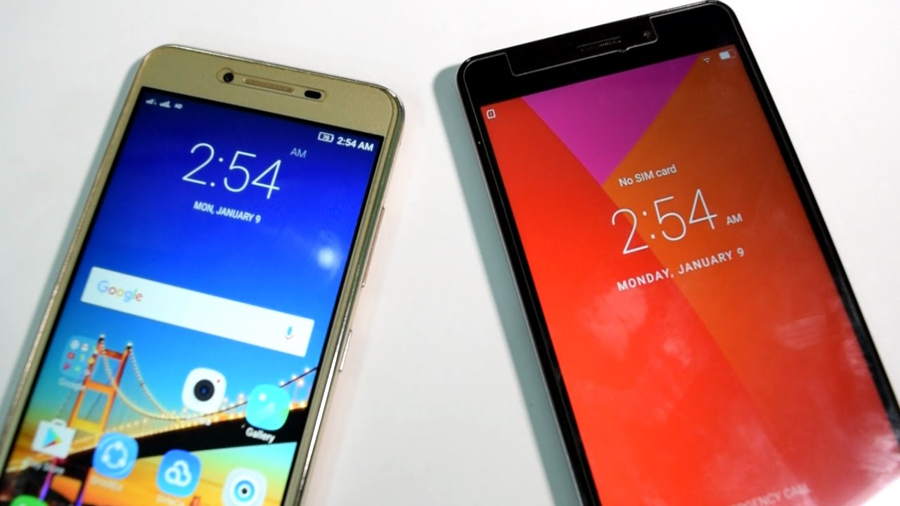 Lenovo A7700 Vs Vibe K5 Plus Speed Test
